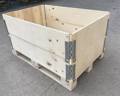 环保木围板箱