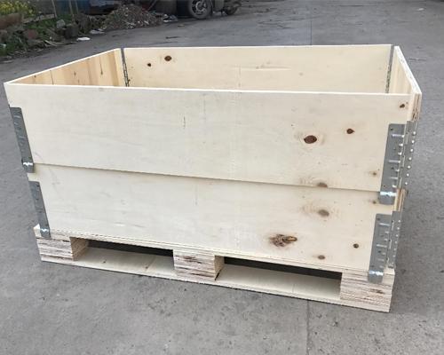 木制围板箱